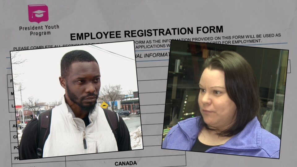 Osigwe Erua and Jessica Knobloch applied for a job and were asked to transfer money into Bitcoin.