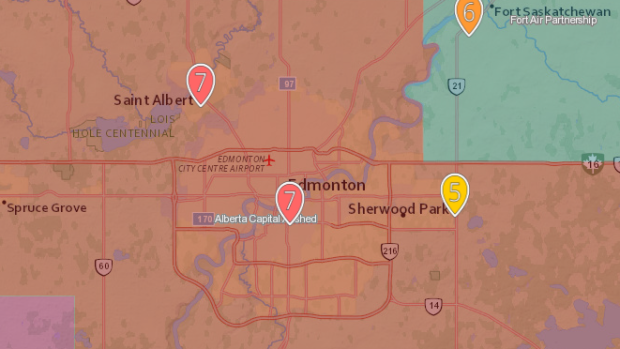 Air quality advisory issued for Edmonton area