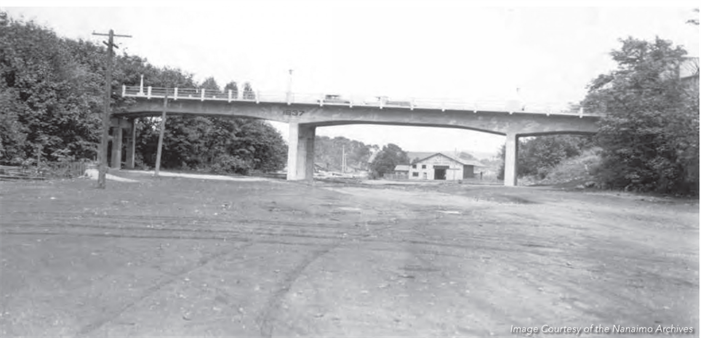 Nanaimo's Bastion Street Bridge was built in 1936. The last time it underwent significant upgrades was in 1978. (City of Nanaimo)