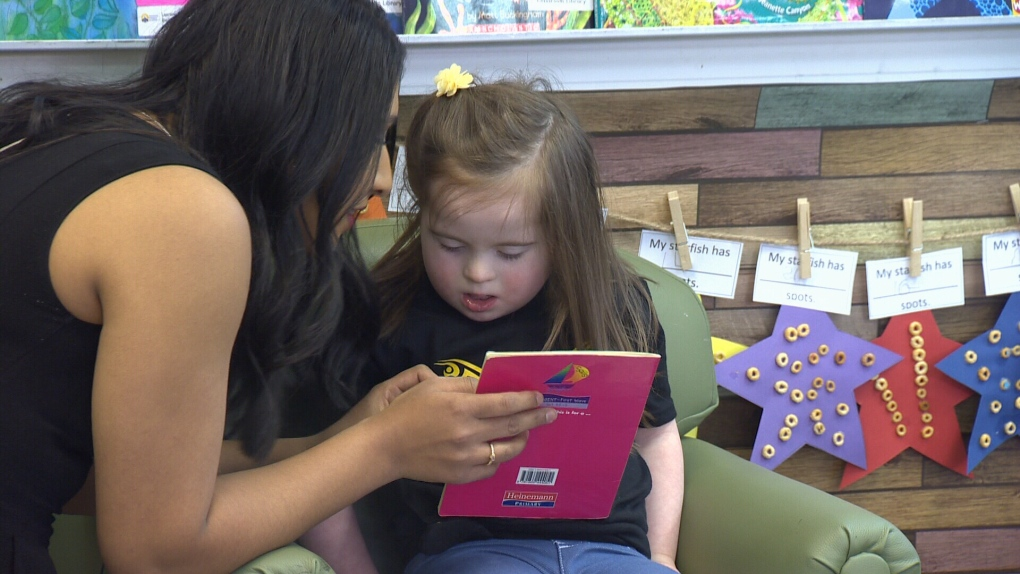 Kindergarten class celebrates student with Down syndrome