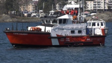 The Coast Guard has conducted a total of 23 training exercises up and down B.C.'s coast this year. (CTV Vancouver Island)