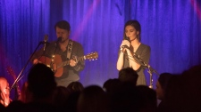 Ocie Elliott performs at their CD release show. (CTV Vancouver Island)