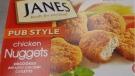 Janes brand Pub Style Chicken Nuggets