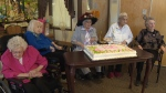 Some of the residents of a Stony Plain care centre who have all hit the century mark.