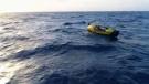 Rowing across Atlantic