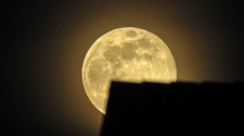 A super moon is seen in this photo taken by Sharmila Bacchus and submitted through Weather Watch by CTV.