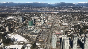 Surrey is seen in this file image. (Murray Titus / CTV Vancouver)
