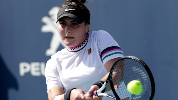 7353aaaa4 Canada s Bianca Andreescu rallies for dramatic win at Miami Open ...