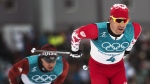 Alex Harvey (4) of Canada competes in the men's 15km + 15km Skiathlon during the 2018 Olympic Winter Games in Pyeongchang, South Korea, on Sunday, February 11, 2018. Alex Harvey isn't planning to manage his emotions on the Plains of Abraham. The World Cup starting Friday in Quebec City is both a homecoming and a swan song for arguably the best cross-country skier Canada has ever produced. THE CANADIAN PRESS/Nathan Denette