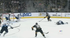 The Winnipeg Jets lost to the Vegas Golden Knights 5-0.