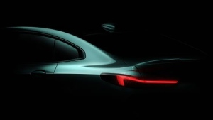 BMW teases the upcoming 2 Series Gran Coupe. (Courtesy of BMW)