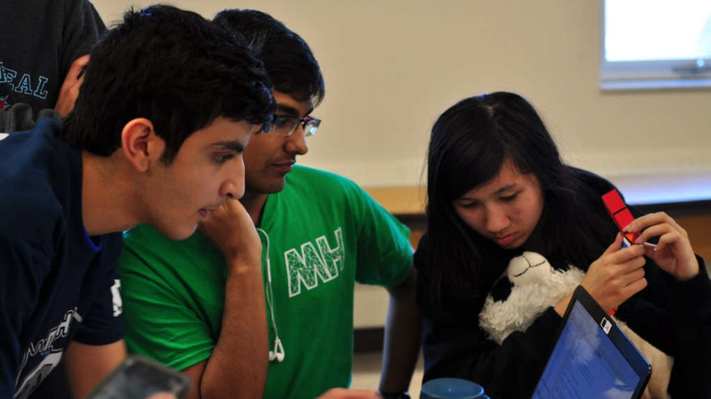 24-hour hack-a-thon returns to Vincent Massey high school