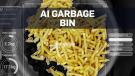 AI garbage bin