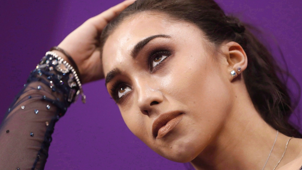 Canadian figure skater Gabrielle Daleman happy with effort at worlds
