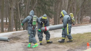 York Regional Police dismantle meth lab