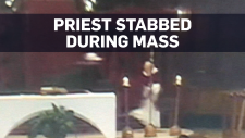 Montreal priest stabbed during morning mass