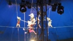 Video shows 2017 Wallenda stunt team falling