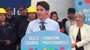 PM Trudeau, Minister Hajdu speak in Ont.