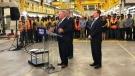 Premier Doug Ford announcesd $1.2 billion for Ottawa's Stage 2 of LRT.