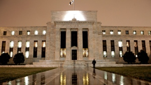 This March 27, 2009, file photo, shows the Federal Reserve Building on Constitution Avenue in Washington. (AP Photo/J. Scott Applewhite, File)