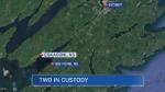 Two men were taken into custody in connection with a suspicious death in Eskasoni, Cape Breton on Thursday night.