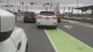 'Murder lane': Cyclists call foul on bike lane