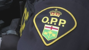 An Ontario Province Police officer is seen in this file photo.