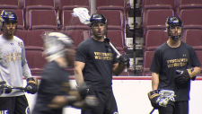 The Vancouver Warriors are fighting for the last playoff spot this weekend against the Colorado Mammoth.