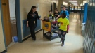 Once a week, a group of Grade 8 students wander the halls of Earnscliffe Sr. Public School selling homemade goodies and coffee to staff.
