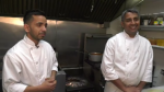 After cooking around the world, two chefs who first became friends in India take their passion for cuisine to Esquimalt. (CTV Vancouver Island)