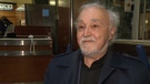 Father Claude Grou tells CTV Montreal that he feels 'fine' after a stabbing attack earlier in the day.