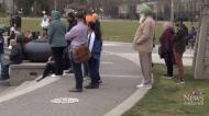 Vigil honours mosque shooting victims