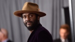 This Jan. 28, 2018 file photo shows Gary Clark Jr. at the 60th annual Grammy Awards in New York. (Photo by Evan Agostini/Invision/AP)