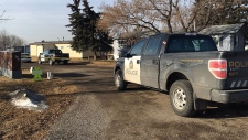 Police were called to respond to an armed home invasion in a southeast Calgary mobile home park on March 23, 2019.