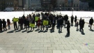 Anti-carbon tax rally takes to Parliament Hill