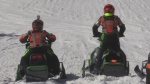 Snow races at Chicopee