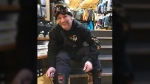 Nathan Fisher, 42, was snowboarding at SilverStar resort when the slide swept him away.