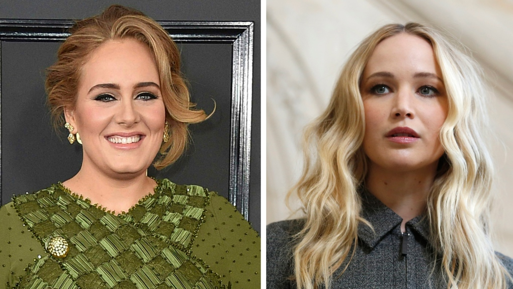 Surprise! Adele and Jennifer Lawrence swing by NYC gay bar