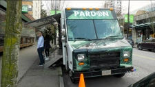 Pot 'pardon truck' rolls across the country