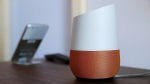 FILE - In this Tuesday, Oct. 4, 2016, file photo, Google Home, right, sits on display near a Pixel phone following a product event, in San Francisco. (AP Photo/Eric Risberg, File)