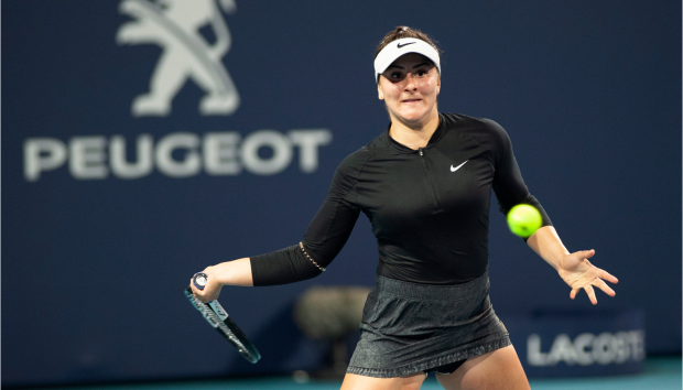 'Drama queen?' Teen Andreescu beats Kerber again at Miami