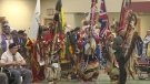 Dozens gathered for the annual Yorkton Tribal Council Child Services Powwow on Saturday, March 23, 2019.