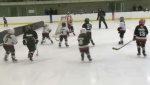 Calgary hosted an all-girls Timbits hockey tournament this weekend at a recreation centre in the southwest.