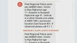 Summary of 911 calls following Amber Alert in Feb.