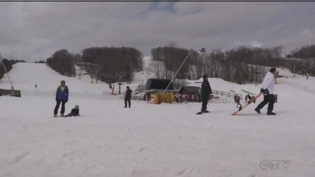 Ski season wraps up at Horseshoe Resort