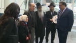 Nazi survivor honoured by the city