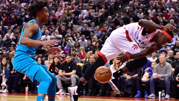 NBA Lamb hits winning 3, Hornets down Raptors 115-114