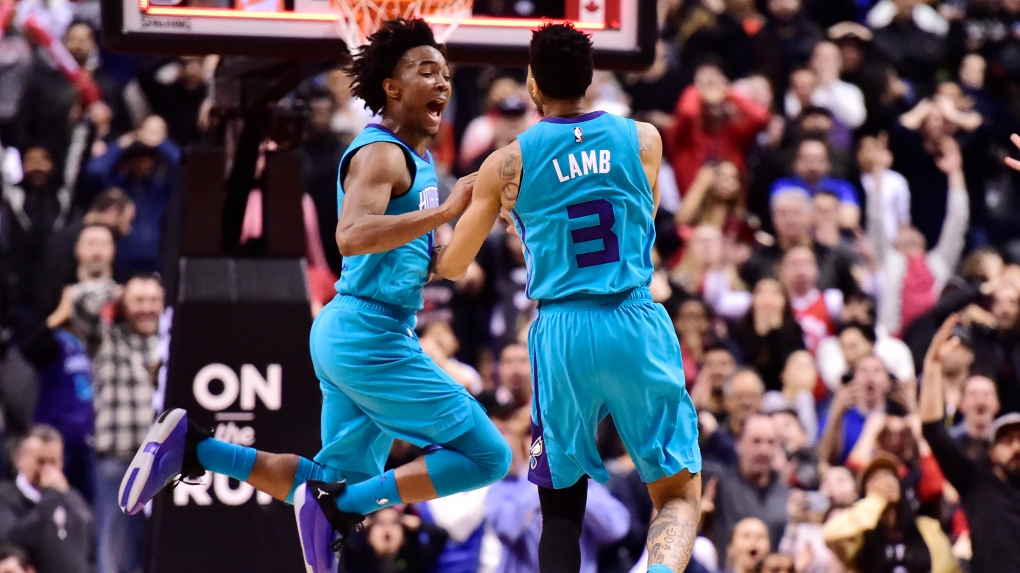 Jeremy Lamb buzzer-beater leads Hornets to 115-114 victory