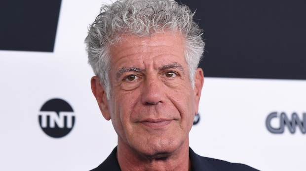 Anthony Bourdain pictured