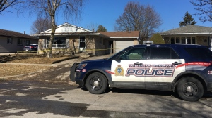 Waterloo Regional Police say one person has died after an early morning fire in Kitchener.